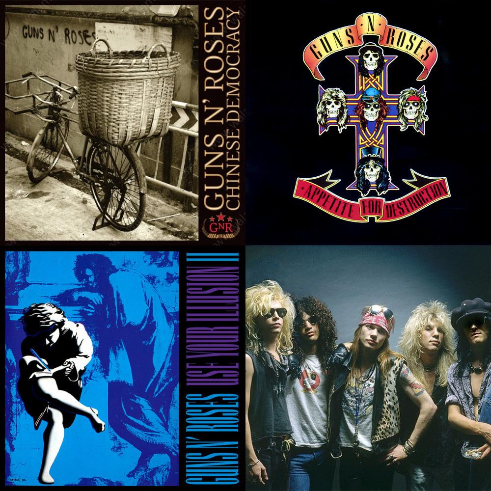 All about Muro Do Classic Rock Guns N Roses Discografia