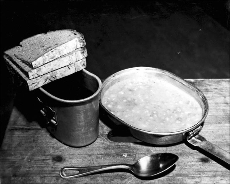 Обед подсудимых Нюрнбергского процесса.